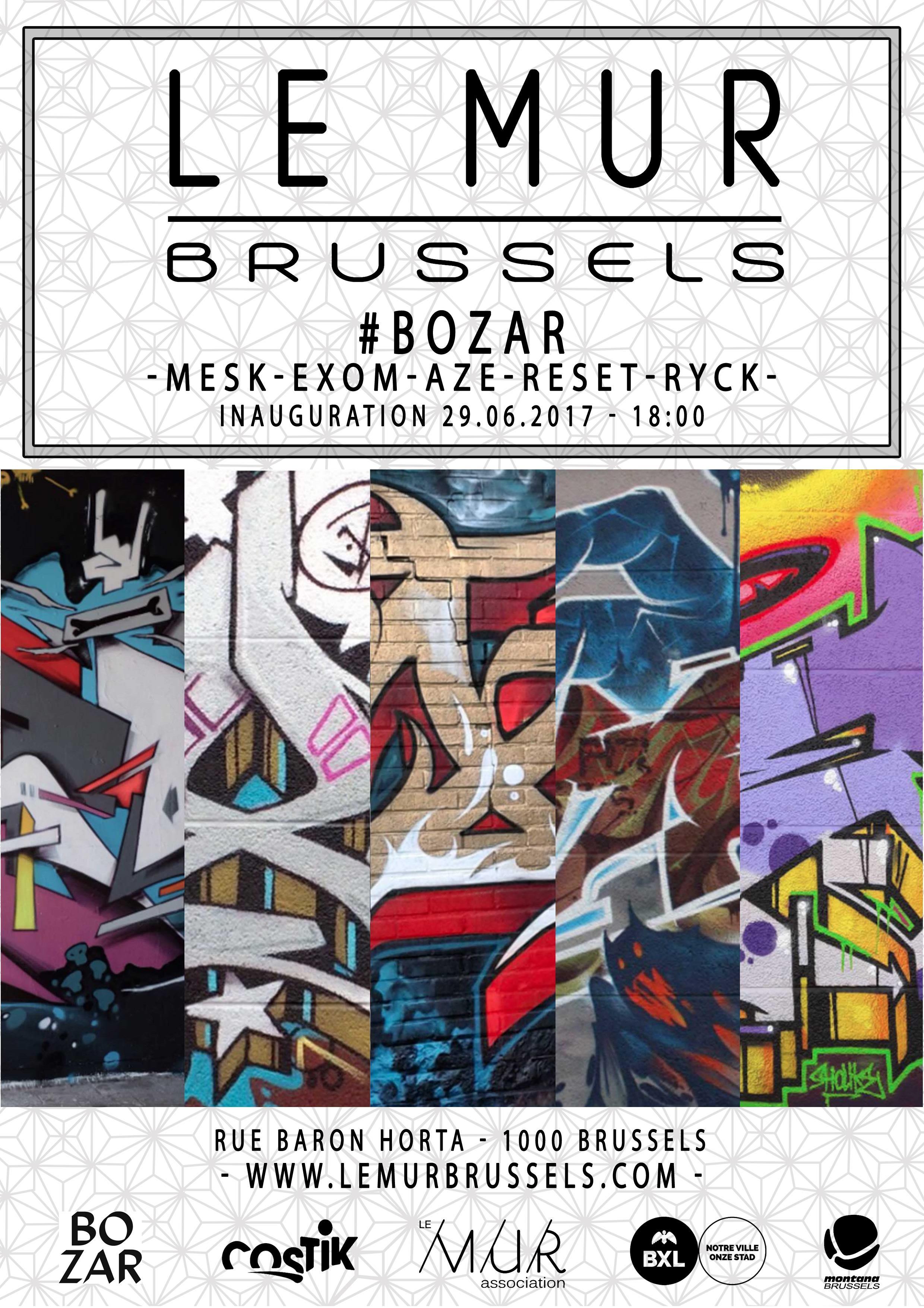 Le MUR Brussels #bozar