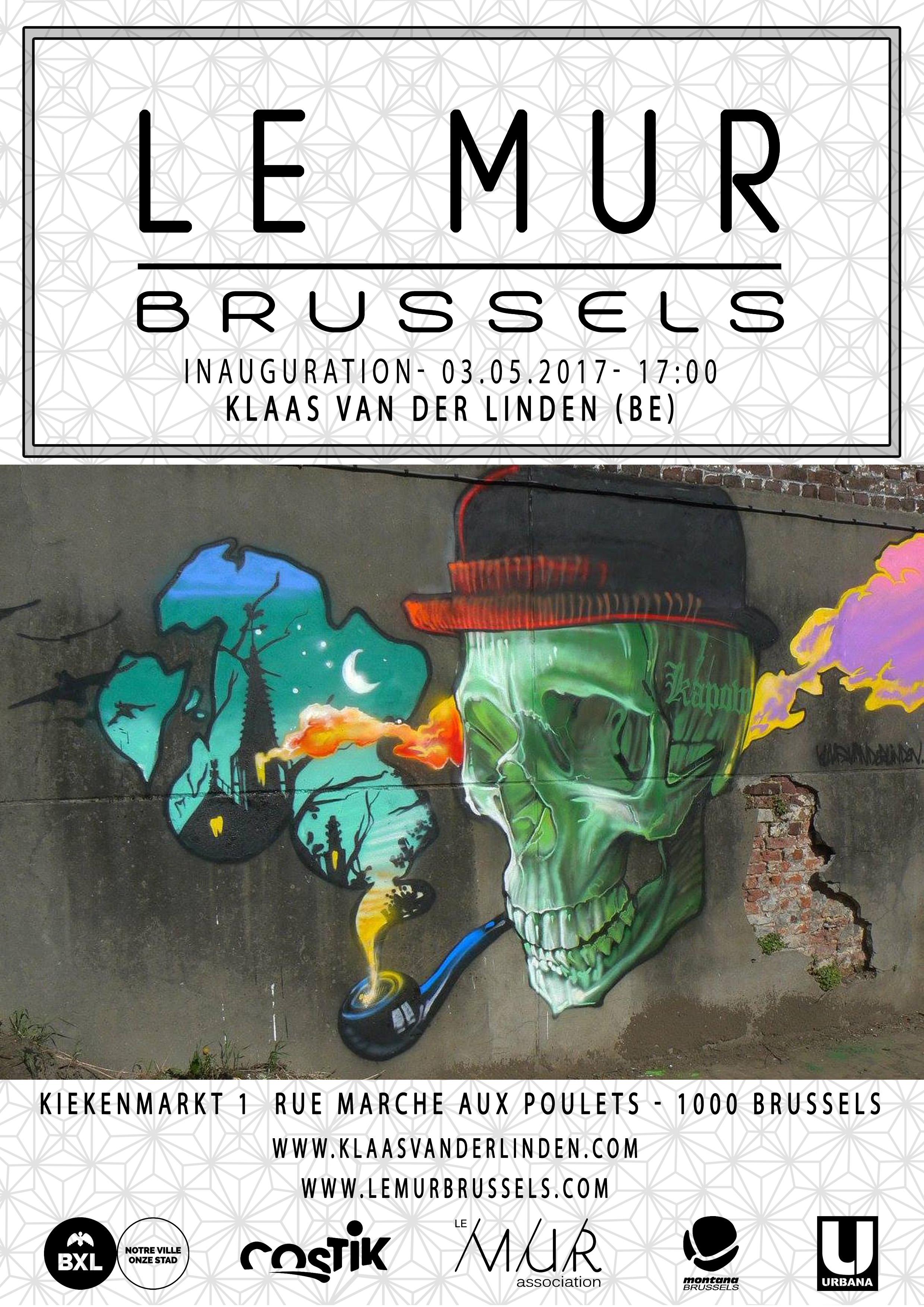 Le MUR Brussels KvD 03.05